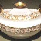 HERALDIC Royal Crown Derby English Bone China Sugar Bowl & Lid