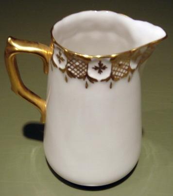 Royal Crown Derby HERALDIC English Bone China Cream Pitcher