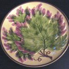 Stunning Old German Oak Leaf Majolica Plate Zell ?
