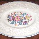 MORNING GLORY Wedgwood Patrician Small Oval Plate