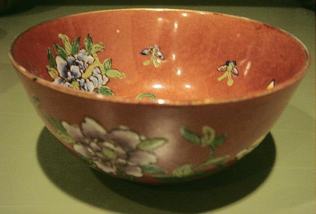 Hand Painted Japanese Porcelain Bowl Hong Kong