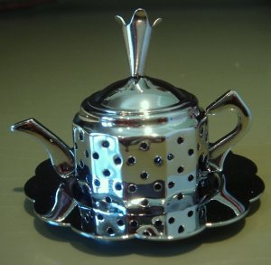 New Tea Infuser Teapot with Tray