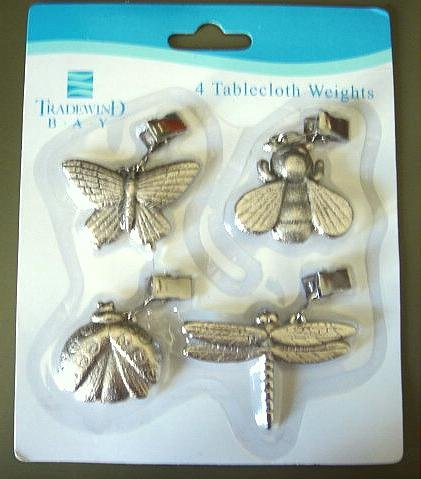 Set of 4 NEW Insect Table Weights
