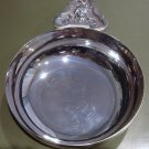 Signed CHRISTOFLE Silver Bowl Elaborate Handle France