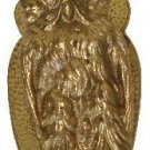 New Figural Solid Cast Brass Owl Clip Desk Accessory Great Gift