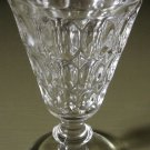 THUMBPRINT Water Goblet Jeannette Glass Co