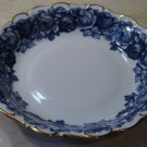 Schumann Bavaria HEIRLOOM Coupe Soup Bowl Blue & White Transferware