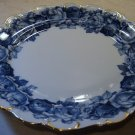 Schumann Bavaria HEIRLOOM Plate Blue & White Transferware