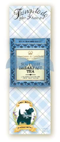 Great Scot Scottie Dog Tea Note Pad