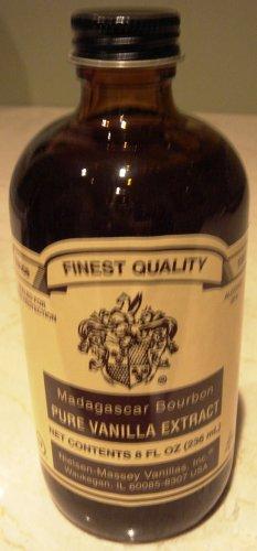 8 ounces Madagascar Bourbon Pure Vanilla Extract Nielsen-Massey