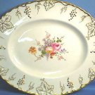 Royal Crown Derby Vine Posie Porcelain Serving Platter
