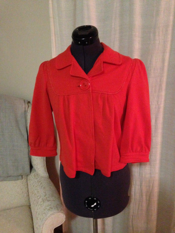 Pumpkin Swing Jacket, Sanctuary, Size S