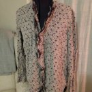 Thick Floral Oversized Top, Sundance, Size L