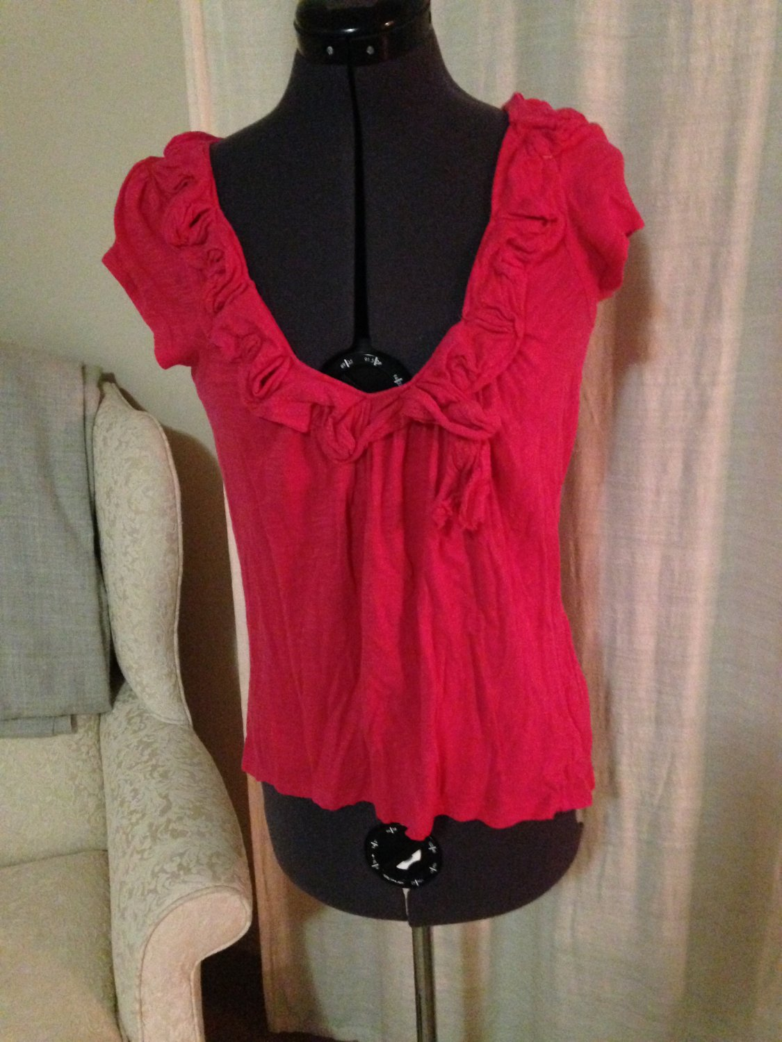 Pink Layering Top, Anthropologie, Size S