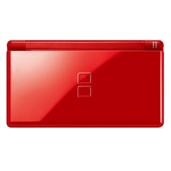 NINTENDO DS LITE RED CONSOLE + 10 GAMES + WARRANTY