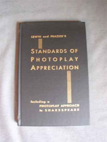 Standards Of Photoplay Appreciation Shakespeare