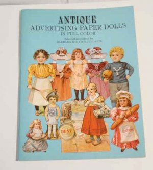 Repro Antique Advertising Paper Dolls Book 1981