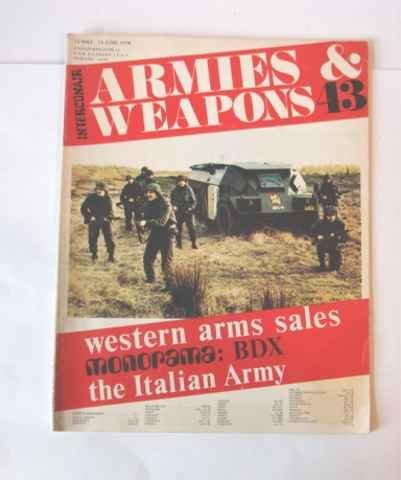 1978 Interconair Armies & Weapons 43 Magazine