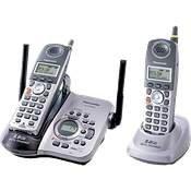 Panasonic KX-TG5632M - 5.8GHz 2 Handset Digital Cordless Phone System