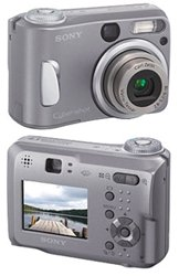 Sony Cybershot DSC-S60 - 4.0 Megapixels Digital Camera with 3x Optical Zoom