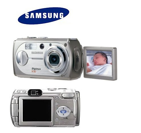 Samsung DIGIMAX V50 - 5.3 MegaPixels Digital Camera with 3x Optical Zoom