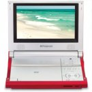 "Polaroid 8"" Inch ""Multi Region"" Portable DVD Player with Deluxe Carrying Case"