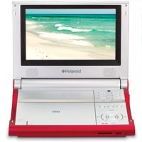 """Polaroid 8"""" Inch """"Multi Region"""" Portable DVD Player with Deluxe Carrying Case"""