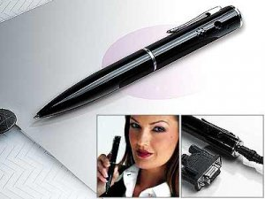 Spion James Bond Super Mini Digital Camera Spy Pen (2MB)