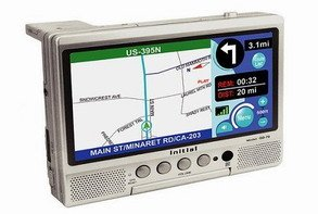 Initial GD-70X Navigation & DVD Player System