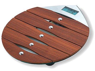 Ikasumoto Wooden Bathroom Scale