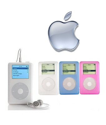 Apple 20GB iPod+HP MP3 Player With Click Wheel + 3 Pack Protective Cases