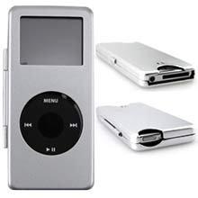 Apple Nano Metal Silver Ipod Case
