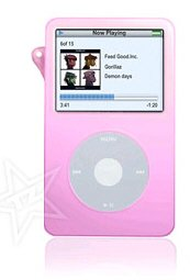 Apple Video 30GB Silicone Pink Ipod Case