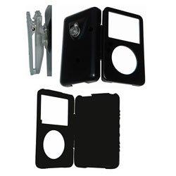 iPod Video Aluminum Black Case + Belt Clip