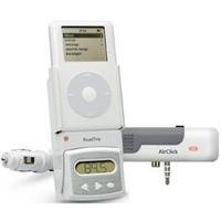 RoadTrip FM Transmitter Car Charger for iPod & iPod mini and AirClick Mini Bundle