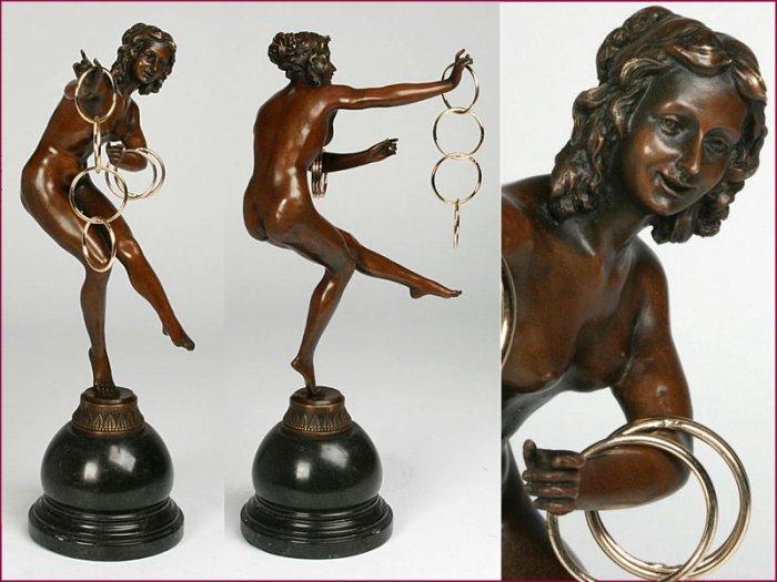 Art decco Bronze Sculpture www.1900style.es