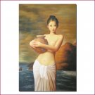 Hand made painting Erotic Painting www.1900style.es
