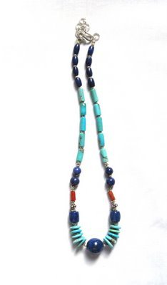 TQ004       Turquoise Necklace