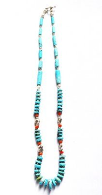 TQ008       Turquoise Necklace