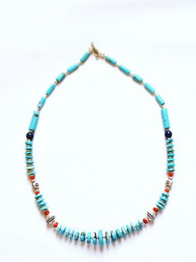 TQ010       Turquoise Necklace