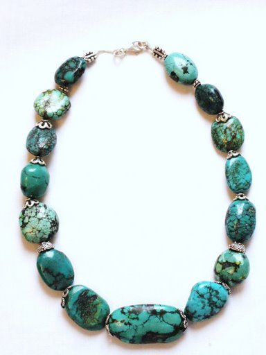 TQ011       Turquoise Necklace