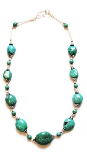 TQ012       Turquoise Necklace