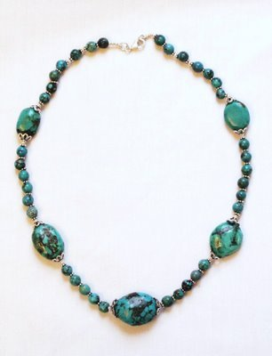 TQ015       Turquoise Necklace
