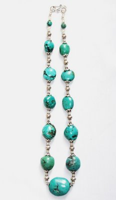 TQ022       Turquoise Necklace