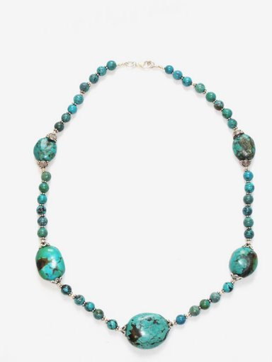 TQ027       Turquoise Necklace