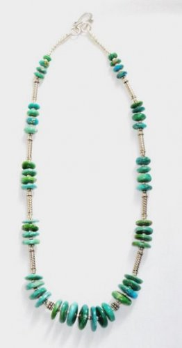 TQ032       Turquoise Necklace