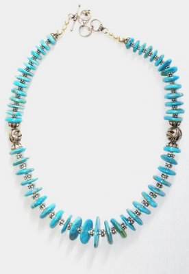 TQ036       Turquoise Necklace
