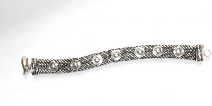 AQ036       Bracelet in Sterling Silver