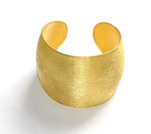 Gold Plated Bracelet in Sterling Silver