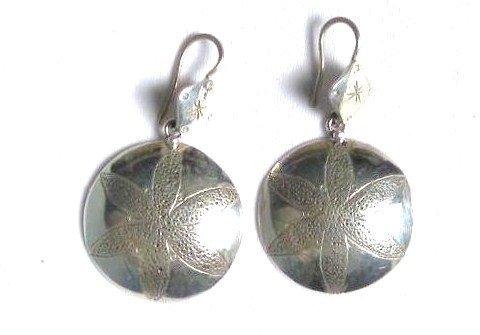 AQ054      Earrings in Sterling Silver